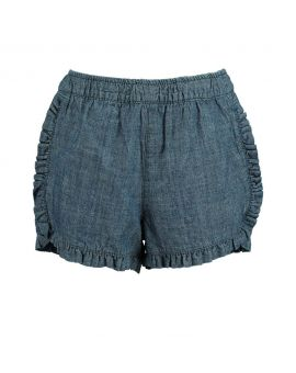 Kinder short Denimblauw
