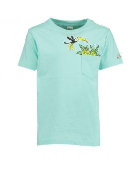 Jongens T-shirt Babyblauw