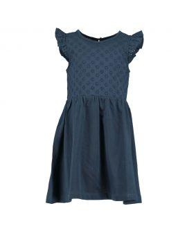 Meisjes jurk Nachtblauw