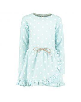 Meisjes jurk Blauw