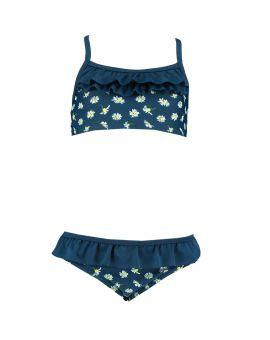Meisjes bikini Navy