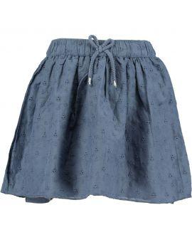 Meisjes rok Nachtblauw