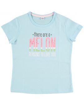 Meisjes shortama Babyblauw