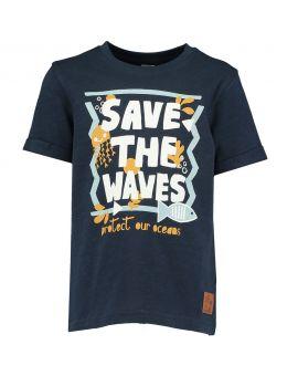 Jongens T-shirt Navy