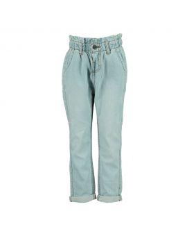 Meisjes jeans Denimblauw