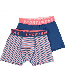 Sportswear jongens boxer Blauw