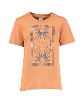Kinder T-shirt Bruin