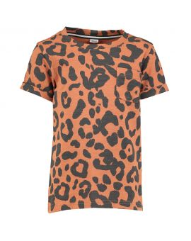Jongens T-shirt Bruin