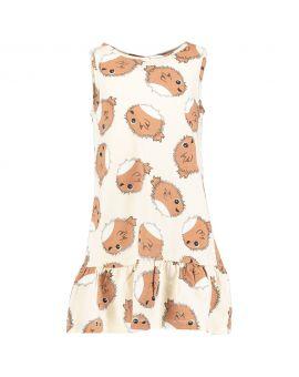 Meisjes jurk Beige