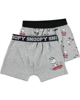 Snoopy Jongens boxer Grijs