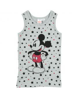 Mickey Jongens hemd Grijs