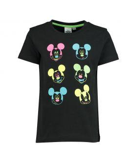 Mickey Kinder T-shirt Zwart