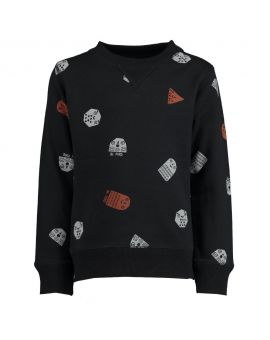 Jongens sweater Zwart