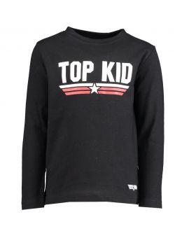 Topgun Jongens T-shirt Zwart