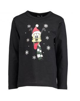 Pluto Kinder T-shirt Zwart
