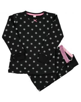Meisjes pyjama Zwart