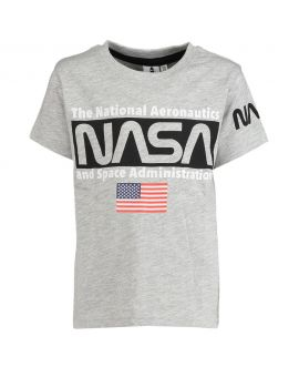 Nasa Kinder T-shirt Lichtgrijs