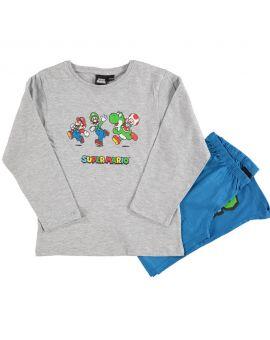 Super Mario Jongens pyjama Melange
