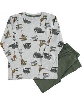 Jongens pyjama Grijs