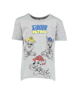 Paw Patrol Kinder T-shirt Grijs
