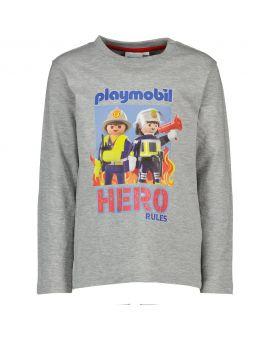 Playmobil Kinder T-shirt Melange