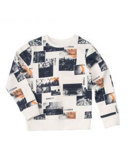 Jongens sweater Wit