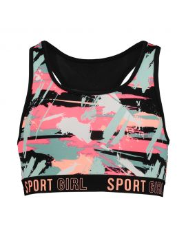 Meisjes sport top Multi-color