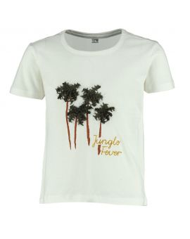 Meisjes T-shirt Wit