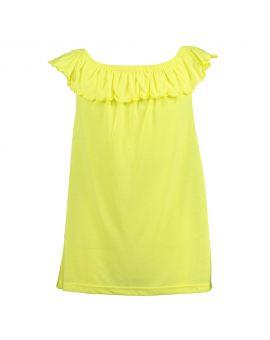 Meisjes top Neon geel
