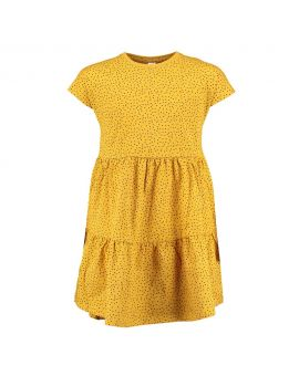 Tiener jurk Geel