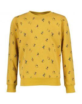 Jongens sweater Okergeel