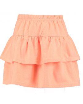 Meisjes rok Oranje