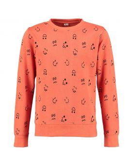 Jongens sweater Rood
