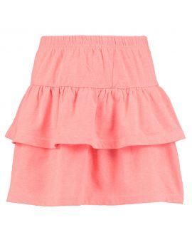 Meisjes rok Neon roze