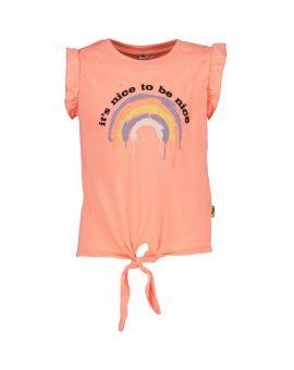 Tiener T-shirt Neon roze