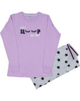 Meisjes pyjama Lila