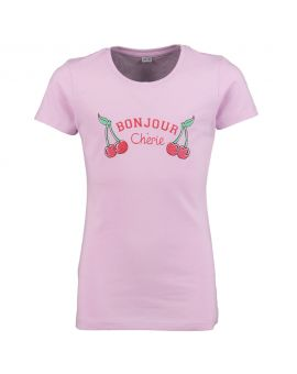 Tiener T-shirt Lila