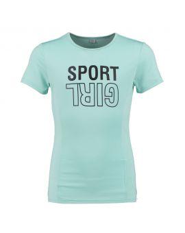 Meisjes sport shirt Mint