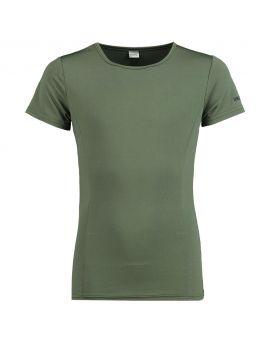 Meisjes sport T-shirt Legergroen