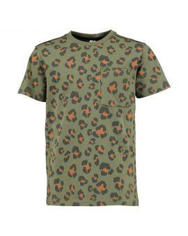 Jongens T-shirt Legergroen