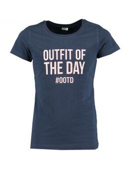 Tiener T-shirt Blauw
