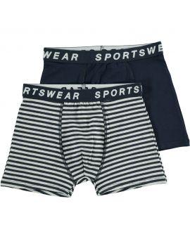 Sportswear jongens boxer Nachtblauw