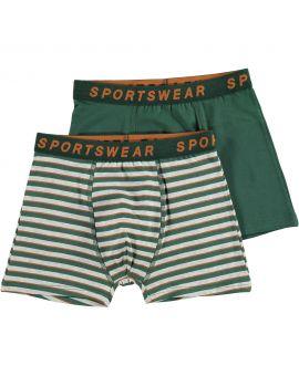 Sportswear jongens boxer Donkergroen