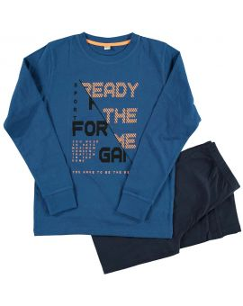 Tiener pyjama Blauw