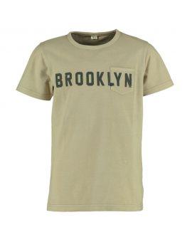 Jongens T-shirt Taupe