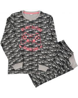 Tiener pyjama Antraciet