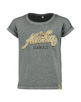 Meisjes T-shirt Grijs