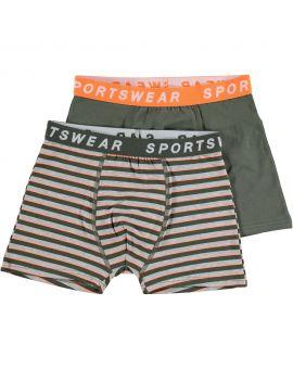 Sportswear jongens boxer Groen