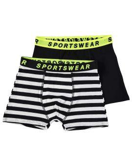 Sportswear jongens boxer Zwart