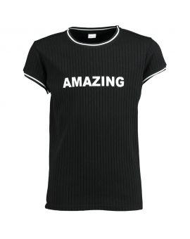 Meisjes T-shirt Zwart